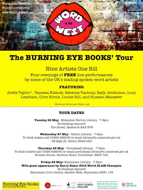 Burning Eye BooksTour